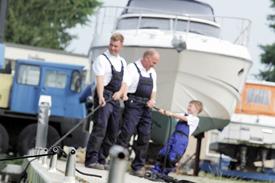 Bootswerft Wendisch in Prieros